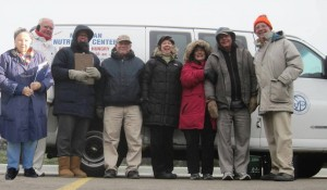The Turkey Pick-up Team Mary, Bob, Jane, Michael, Patti, Robin, Fred & Frank